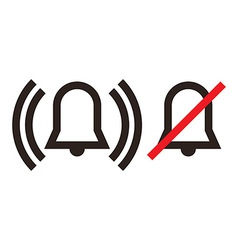 Alarm icon vector