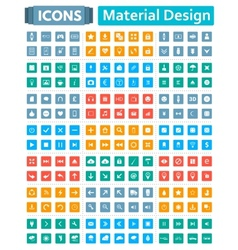 Universal icon set vector