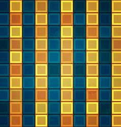 Gold tiles seamless pattern vector