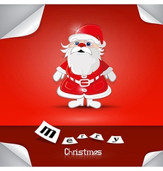 Merry christmas theme vector