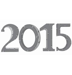 Year 2015 vector