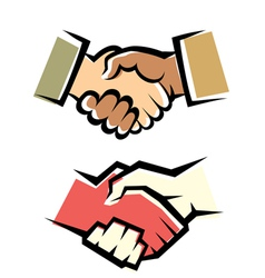 Handshake symbol set vector