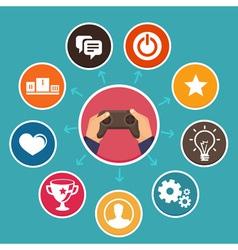 Game concept vector