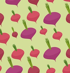 Beet pattern seamless background with dark red vector