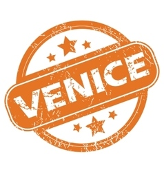 Venice rubber stamp vector