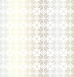 Silver nordic pattern vector