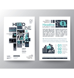 Poster brochure flyer design layout template vector