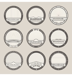 Label templates vector