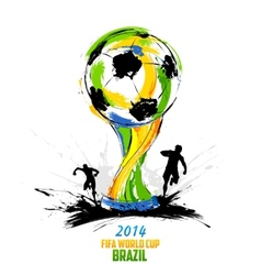 Fifa world cup background vector