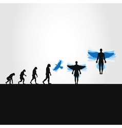 Evolution in a bird vector