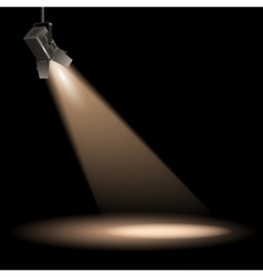 Stage lighting vector
