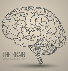Brain abstract vector