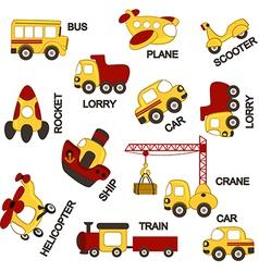 Pattern transport vector