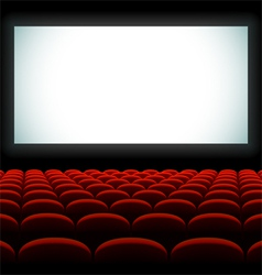 Cinema auditorium vector