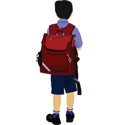 School kid vector
