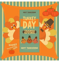 Thanksgiving poster vector