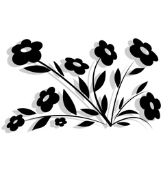 Abstract flower-1 vector