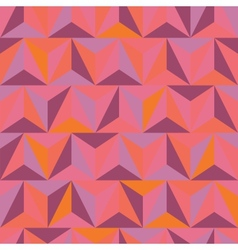 3d abstract pyramidal pattern vector