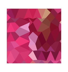 Brilliant rose pink abstract low polygon vector