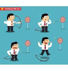 Business goal statuses vector
