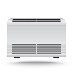 3d realistic air conditioner vector