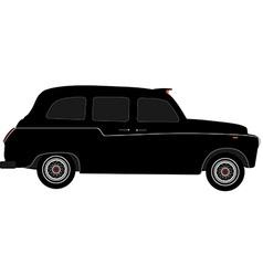 London taxi vector