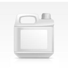 Jerrycan canister galoon oil cleanser detergent vector