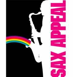 Sax-rainbow vector
