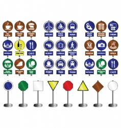 Sign collection vector