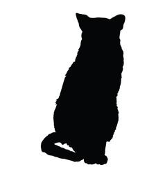 Cat silhouette 3 vector