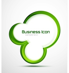 Business ecology swirl concept vector