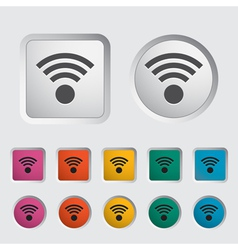 Wireless icon vector