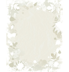Background of tracing silhouettes vector