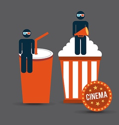 Cinema concept vector