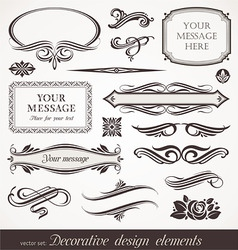 Design elements  page decor vector