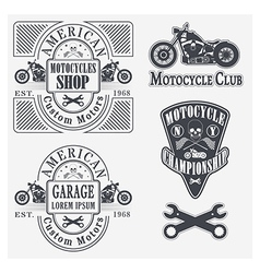 Motocycles vector