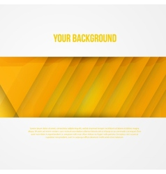 Abstract triangles template object web vector