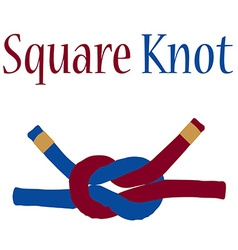 Square knot vector