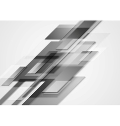 Grey hi-tech motion design vector