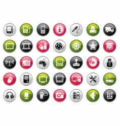 Web icon collection vector