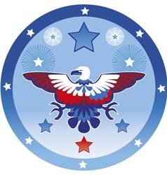 Eagle july 4th vector