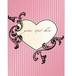 Romantic heart vector
