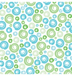 Green-blue swirl pattern background vector