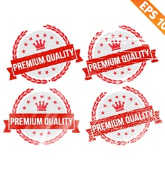 Rubber stamp premium quality - - eps10 vector