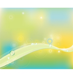 Clip art abstract wave line background vector
