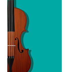 Violin composition vector
