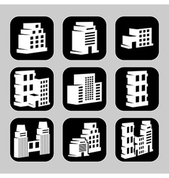 Buildings4 vector