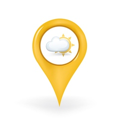 Partly cloudy location vector