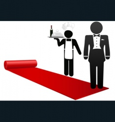 Hospitality industry vector