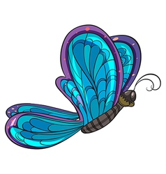 A colorful butterfly vector